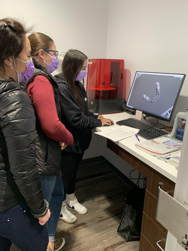Dental team 3D printing